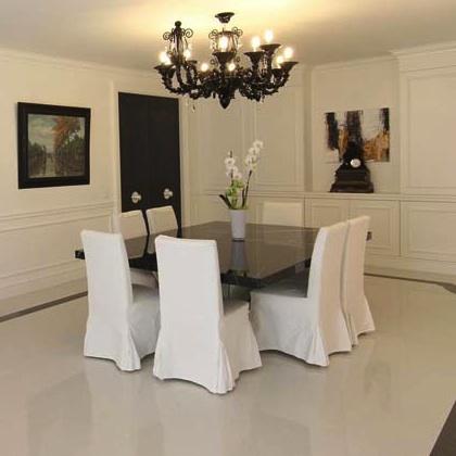 Sala da pranzo con boiserie - La bottega del falegnameLa ...